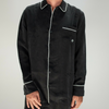 Beautiful Ful: Pajama Button Up (black)