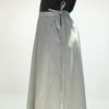 Blue Blue Japan (woman): Gabardine Hakayama Pant (grey)