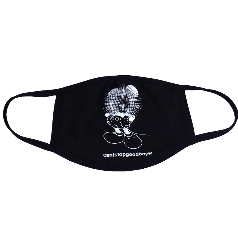 CSGB: CROOKED MOUSE® MASK (black)