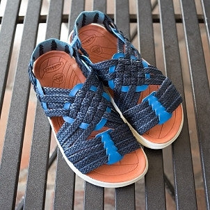 Malibu Sandals: Malibu x Missoni Canyon Sandals (navy cobalt)