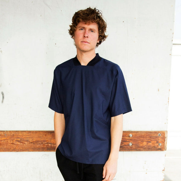 Public School: Wexler Shirt (navy)