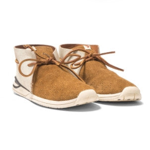 Visvim: Huron Moc Folk Leather (brown)