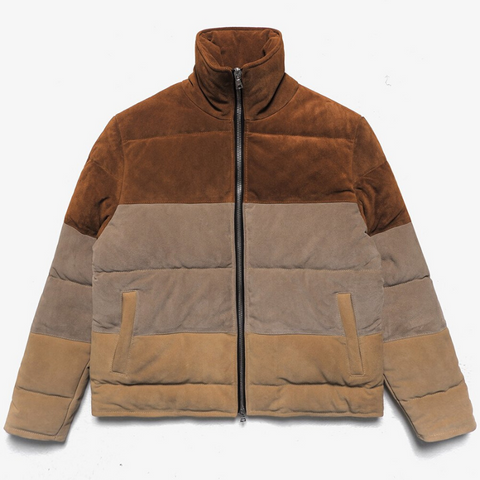 BTFL: Puffer Coat (tobacco/clay/sand)