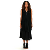 Pas de Calais: Blouson Dress (black)