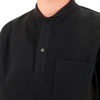 N. Hoolywood: Shawl Collar Polo (black)
