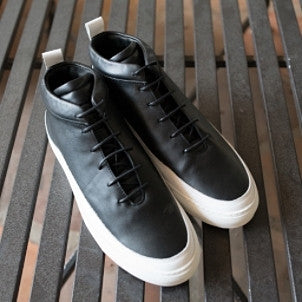 Public School: Braeburn Hi Top (black/white)