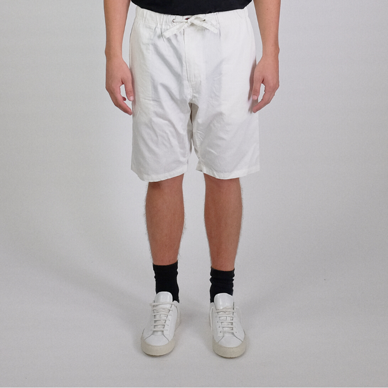 Canvas . Malibu: Shorts . Slight Drop (white)