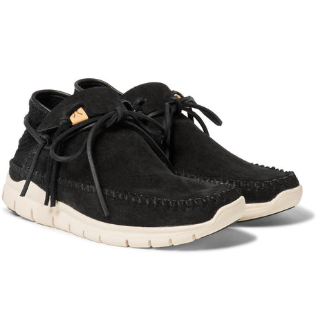 Visvim WMV: UTE Moc Trainer-Folk Suede (black)