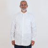Engineered Garments: Spread Collar Shirt (white 100's 2 ply broadcloth)