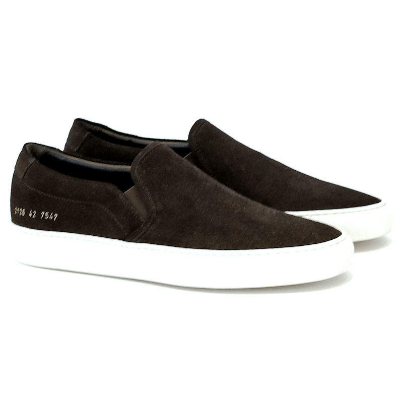 Common Projects  Slip on Suede (black) – canvasmalibu.com 0eadf180af13