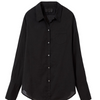 Nili Lotan: NL Shirt Cotton Voile (black)