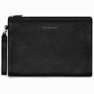 Want Les Essentiels de la Vie: Barajas Double Zip A4 Folio (black)