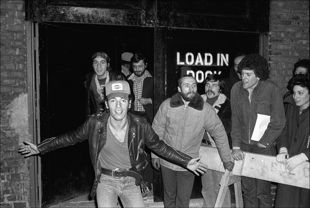 Bruce Springsteen Stage Door