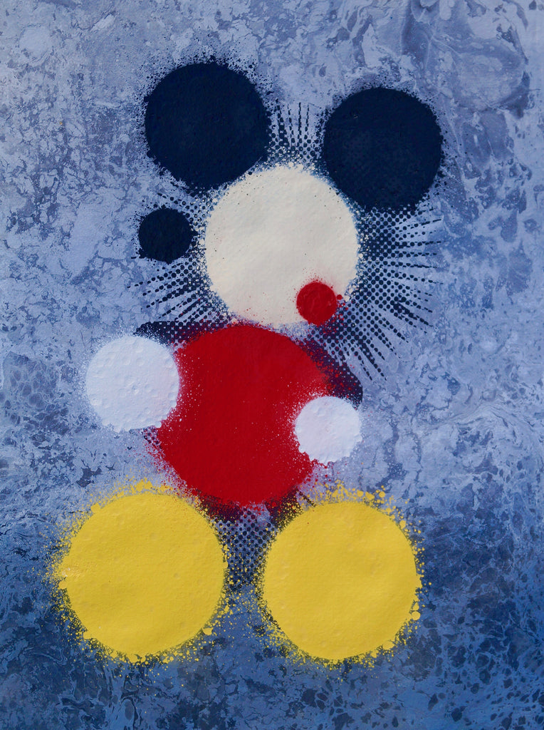 Minimally Blurry (Mickey) SOLD