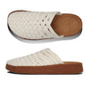 Malibu Sandals: Men's Colony  Hemp/Crepe Gum Rubber (natural/tan)