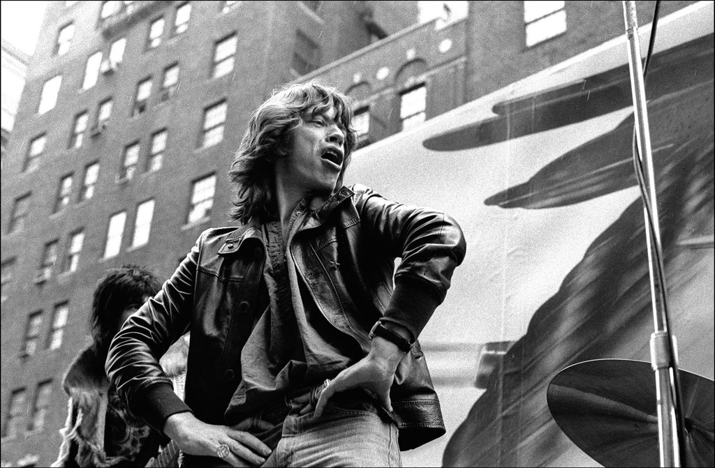 Mick Jagger 5th Ave.