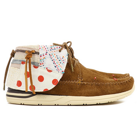 Visvim WMV (woman): FBT Collage-Folk (camel)
