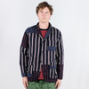 Engineered Garments: Loiter Jacket (regimental stripe navy red)