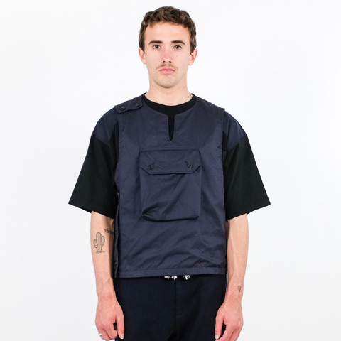 Engineered Garments: Cover Vest (Dark Navy)