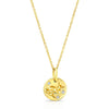 Amy Y Jewelry: Wise Owl (yellow gold)