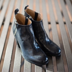 Officine Creative: Pisier Double Zip Ankle Boot (Navy)
