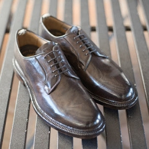 "Officine Creative: Harvard Shoe ""canyon ebano"" (brown)"