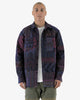 BTFL: Quilted Work Shirt (over-dyed navy)