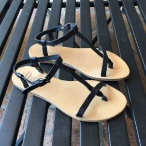 n.d.c (made by hand): Jessa Leather Sandal (nero/black)