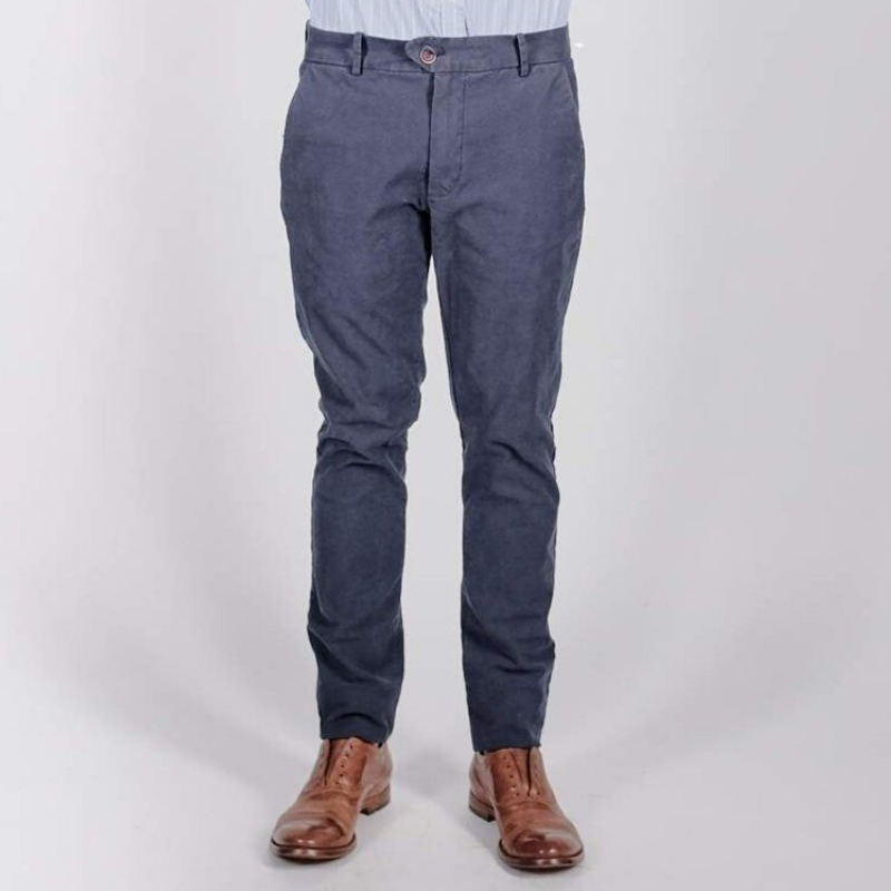 "Canvas . Malibu: ""Malibu Trouser"" (washed navy)"