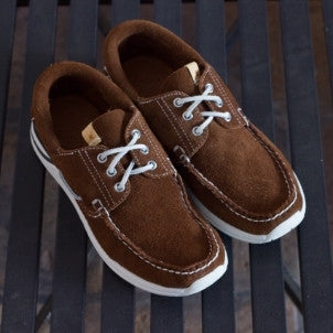 Visvim: Hockney Folk (brown suede)