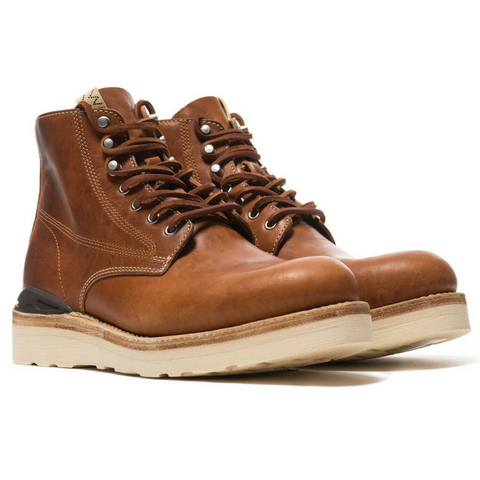 Visvim: Virgil Boot Folk - horsehide (brown)
