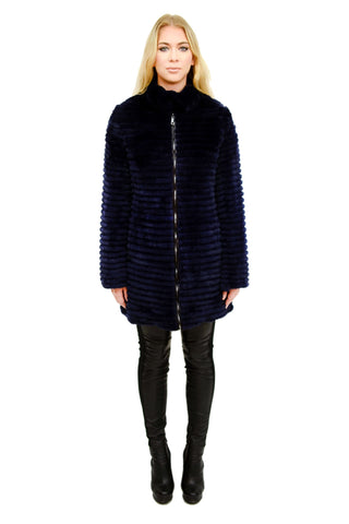 Down & Layered Rex Reversible Coat