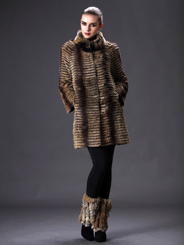 Layered Rex Jacket with Sleeves