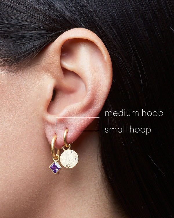 Medium Hoop 11mm