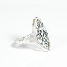 Load image into Gallery viewer, She's a Badass Ring | Ruth Bader Ginsburg Lace Jewelry