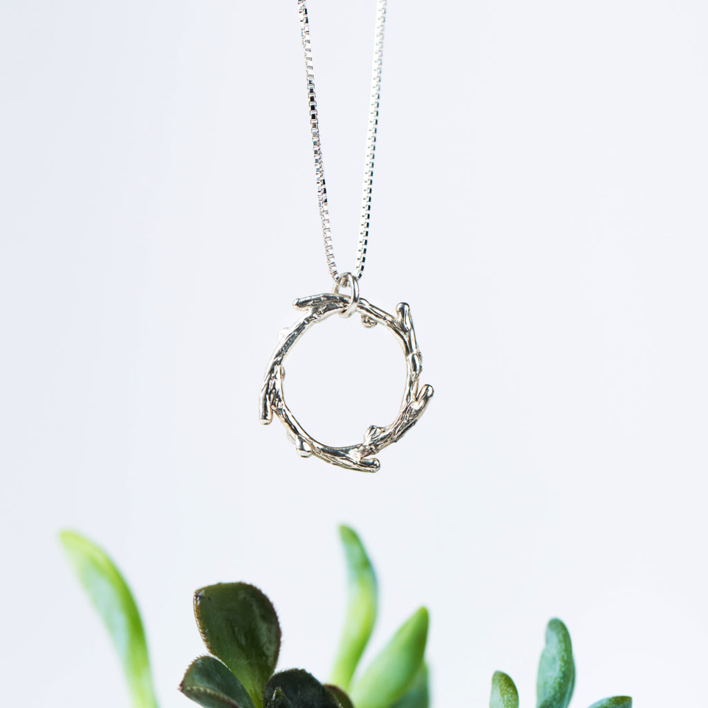 Twig Branch Necklace