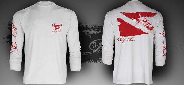 Distressed Dive Flag SPF