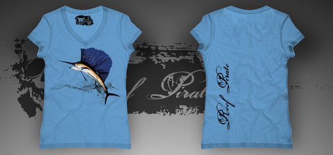 Sailfish Ladies V-Neck (Color)
