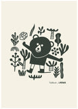Print, Bear Man NEW!
