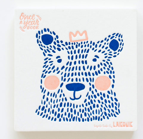 Baby Keepsake Book - Bear