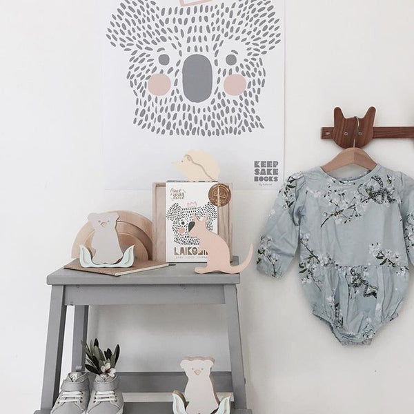 Baby Keepsake Book - Koala