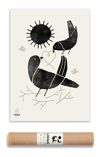 SALE! PRINT, Nordic Bird,  Limited Edition