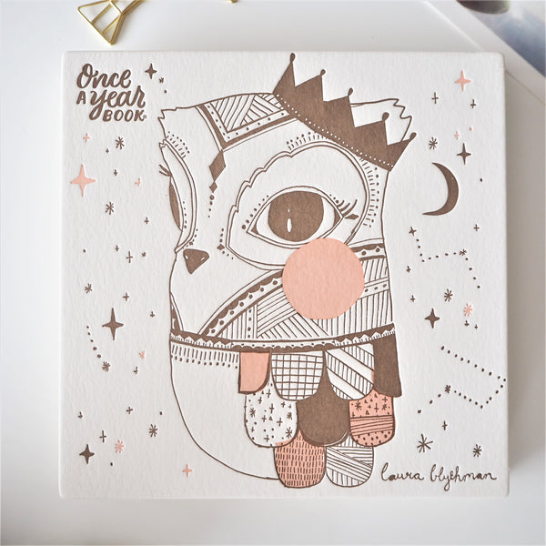 Baby Keepsake Book - Owl