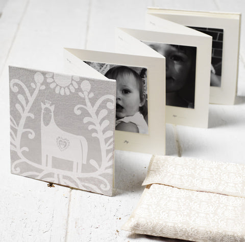 Baby Photo Journal, White Horse