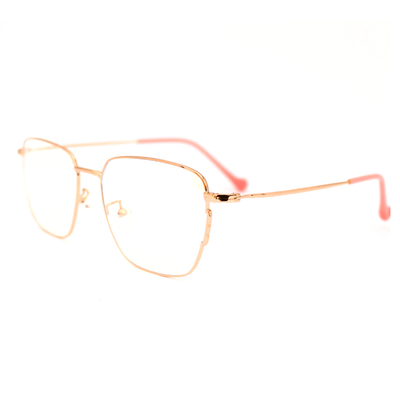 Lentes Blue blocking rectangulares rosados Rose Musk - Blinders Online Store