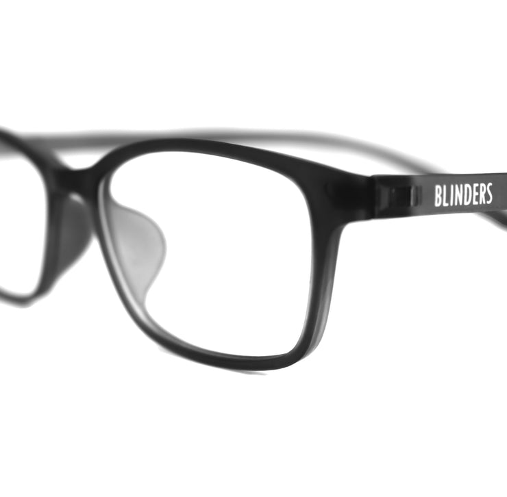 Lentes Blue Blocking gris con negro Shadow Black Toulouse - Blinders Online Store