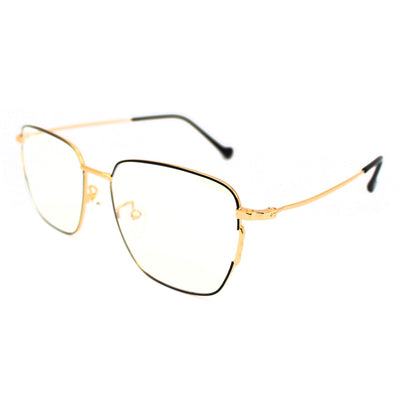 Lentes Blue blocking rectangulares Black Gold Musk - Blinders Online Store
