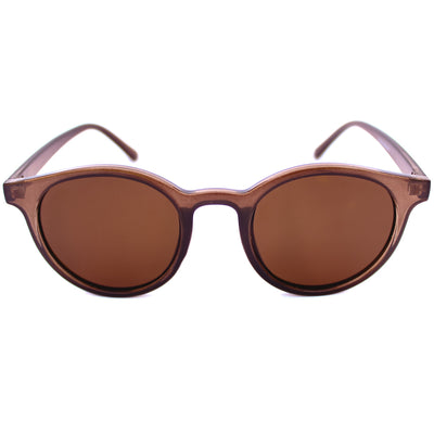Lentes de sol marrones redondos Brown Boston - Blinders Online Store