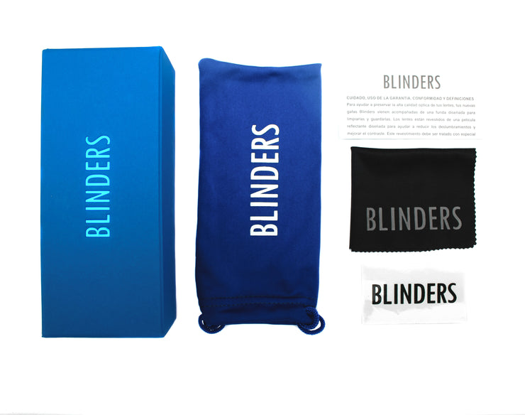 Funda y empaque para lentes blue blocking – Blinders Online Store