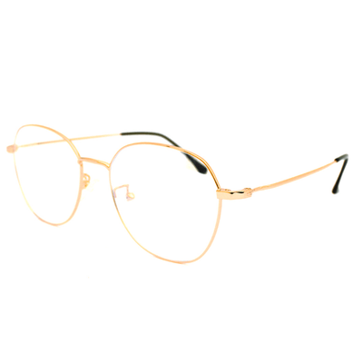 Lentes Blue blocking redondos Rose Gold Ford - Blinders Online Store